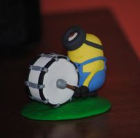 Little Drummer Minion by jellybeans33
