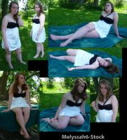 Black and White Dress Stock IV by Melyssah6-Stock
