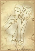 Kenny and Butters from SP by Vera-Ist-44
