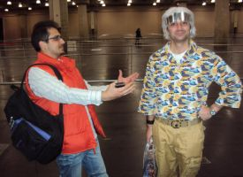 NYCC '12: Marty McFly and Doc Brown Cosplay by PanicPagoda