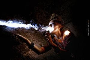 smokin girl by normanpaeth