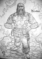 The Mighty Bowan by Jimmy-B-Deviant