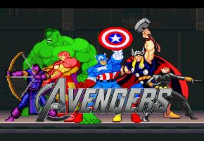 The Avengers by Gery850