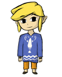 Outset Toon Link by MaxMartian