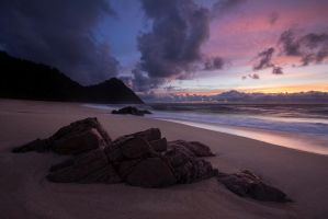 Scott's Beach Sunset by GregArps