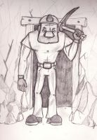 Miner Sketch by DonKrow
