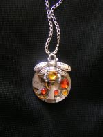 Honey Bee Handmade Steampunk Pendant by lollollol2