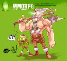 MMORPGesp Mascot by Axigan