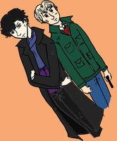 SH and JW - First Go at my Tablet by celina-tamwood