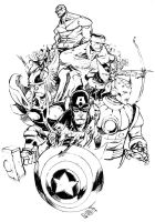 THE AVENGERS by EricCanete
