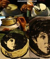 BeatlesCake_Paul by HappilyDeluded889