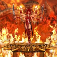 Infernal Bedlam by MythArcana