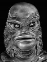 Creature From The Black Lagoon by ScOttRa