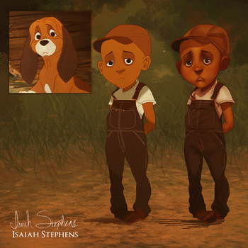 Humanized Fox and the Hound: Copper Preview by IsaiahStephens