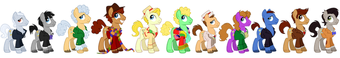The Eleven Doctors by LissyStrata