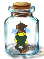 ... In a bottle. by RebelStarwarrior