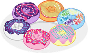 The Donut Six by cheezedoodle96