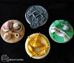 The Hunger Games cupcakes by cakecrumbs