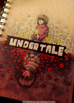 - Undertale - by Cloudnixus