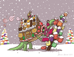 Holiday Card 2011 by saffronscarf