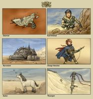 Dune card art by ilya-b