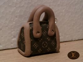 Mini bag Louis Vuitton fimo by bimbalove81