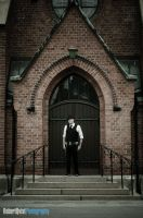 Kenny at the Church by Robbanmurray