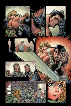 Battle Chasers Page8 by Elliscarlos