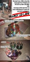 Project: CD Lamp by GAME-OVER-CUSTOM