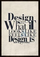 Design Quote Typhography by TraX1m
