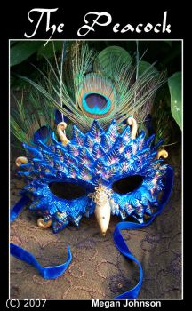 'The Peacock Mask' by EMasqueradeGallery