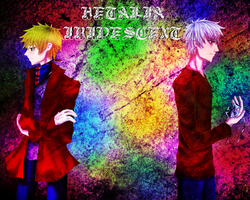 Hetalia Iridiscent Title Screen by Yellow-fin-Tuna