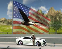 All-American by Tramp-Graphics