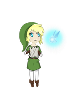 Chibi Link by Flamingoz