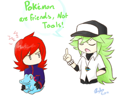 Pokemon are friends, not tools by firehorse6
