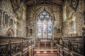 HDR Church II by teslaextreme