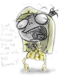 Nossie wants a Bad Romance by DollCreep