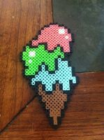 Perler Ice Cream by WhoopsIDrew