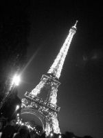 Eiffel Tower at Night by Fussy-Sussy