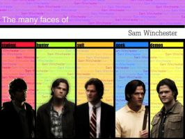 The Many Faces of Sam by Castiel7