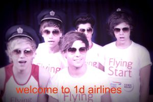 welcome to one direction airlines by Falloutdaylenne