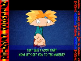Hillwood Fighter a SF Hey Arnold Parody -Arnold- by UrielManX7