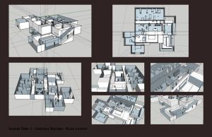 Maze Layout Draft one by Riskyo