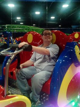 Me on the Spin Coaster by KBAFourthtime