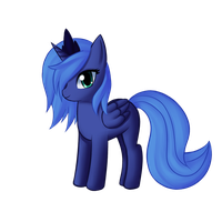 Filly Luna by Mewball