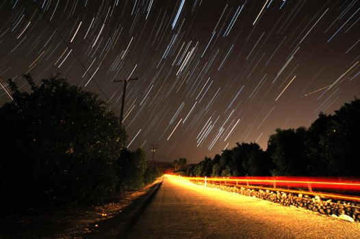 Long Exposure of Stars by steverobles