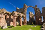 Lindisfarne  Priory by parallel-pam