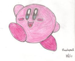 Kirby Drawing by MarioSimpson1