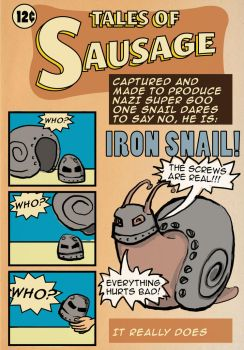 Iron Snail by mevin