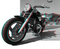 Custom 3D daylight 3 (anaglyph red/cyan) by nadamas